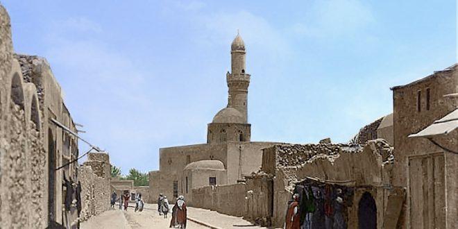 صورة لجامع السرايا بدير الزور تثير الجدل.. هل هي في العراق أم في سوريا؟َ!